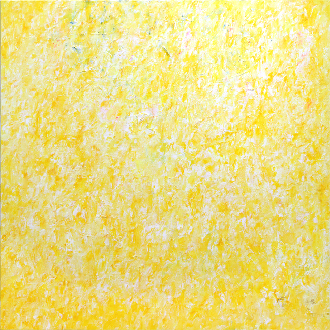 そして、黄の先端が春を問う